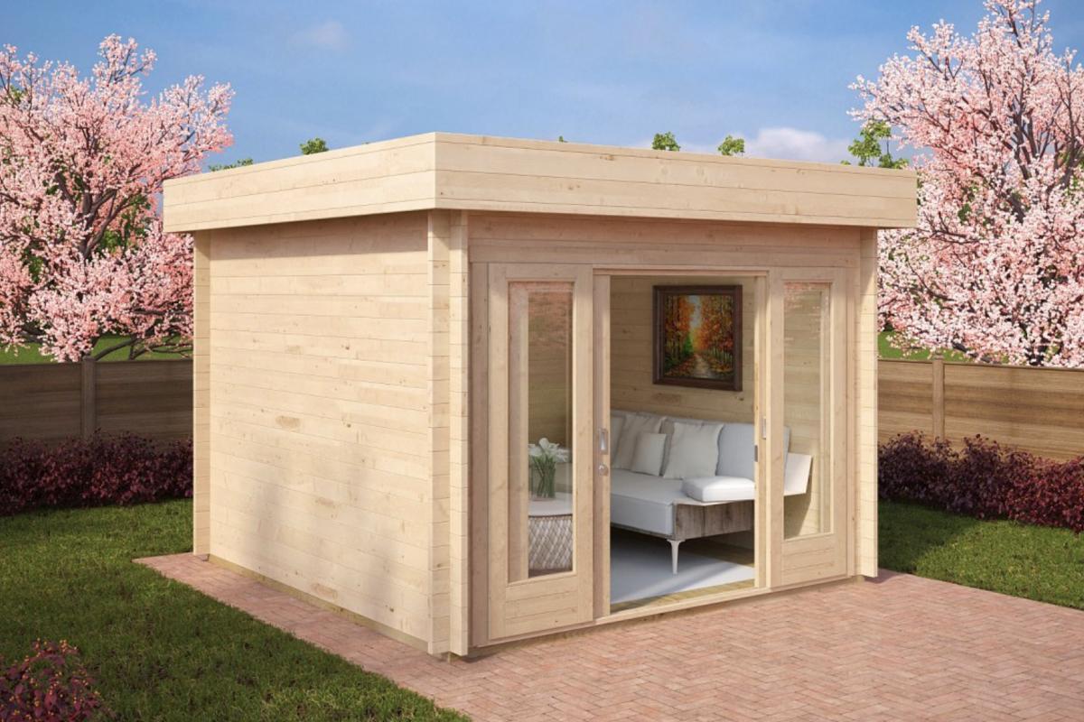 Royal koala casette in legno di design for Progetto casa in legno pdf